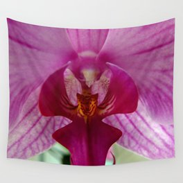 Close up Orchid #1 Wall Tapestry