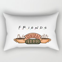 Central Perk Rectangular Pillow