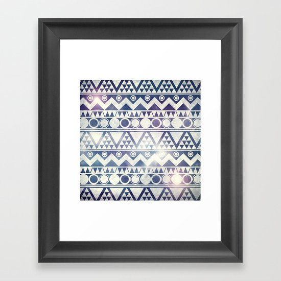 Tribal Gathering Framed Art Print