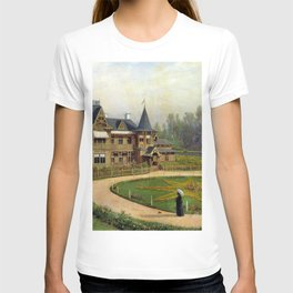 Country House 1892 By Lev Lagorio | Reproduction | Russian Romanticism Painter T-shirt