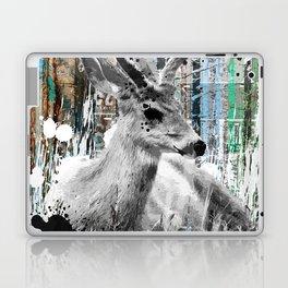 Deer in the Industrial Woods Laptop & iPad Skin