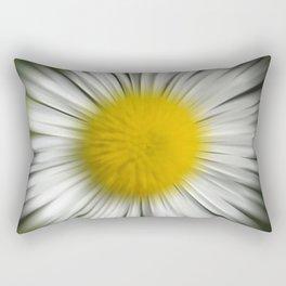 Floral Zoom Rectangular Pillow