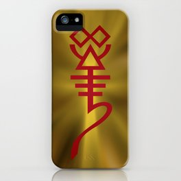 All Hail the Whispering God! iPhone Case