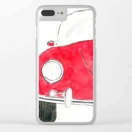 lil red Clear iPhone Case