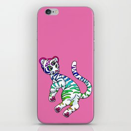 Clairvoyant Tiger Cub iPhone Skin