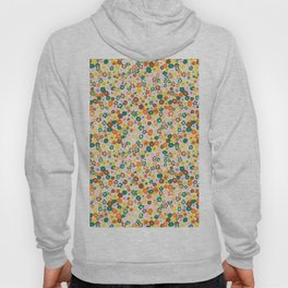 Ditsy Daisy Meadow in 60's Spring Hoody