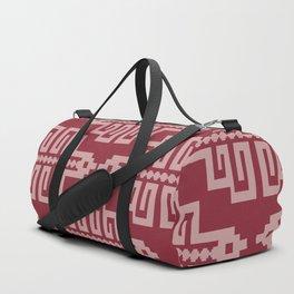 Blue Inca Duffle Bag