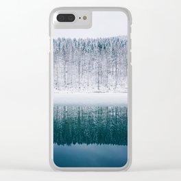 Mia Clear iPhone Case