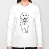 karma Long Sleeve T-shirts featuring karma by creaziz