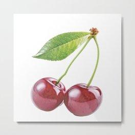 Cherry fruit plants genus Prunus fleshy drupe fruit Metal Print