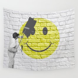 No Happiness Allowed! Wall Tapestry