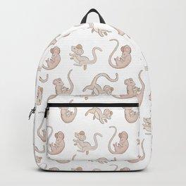 Cute Falling Field Mouse Pattern Backpack