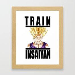 Train Insaiyan - Gohan Framed Art Print