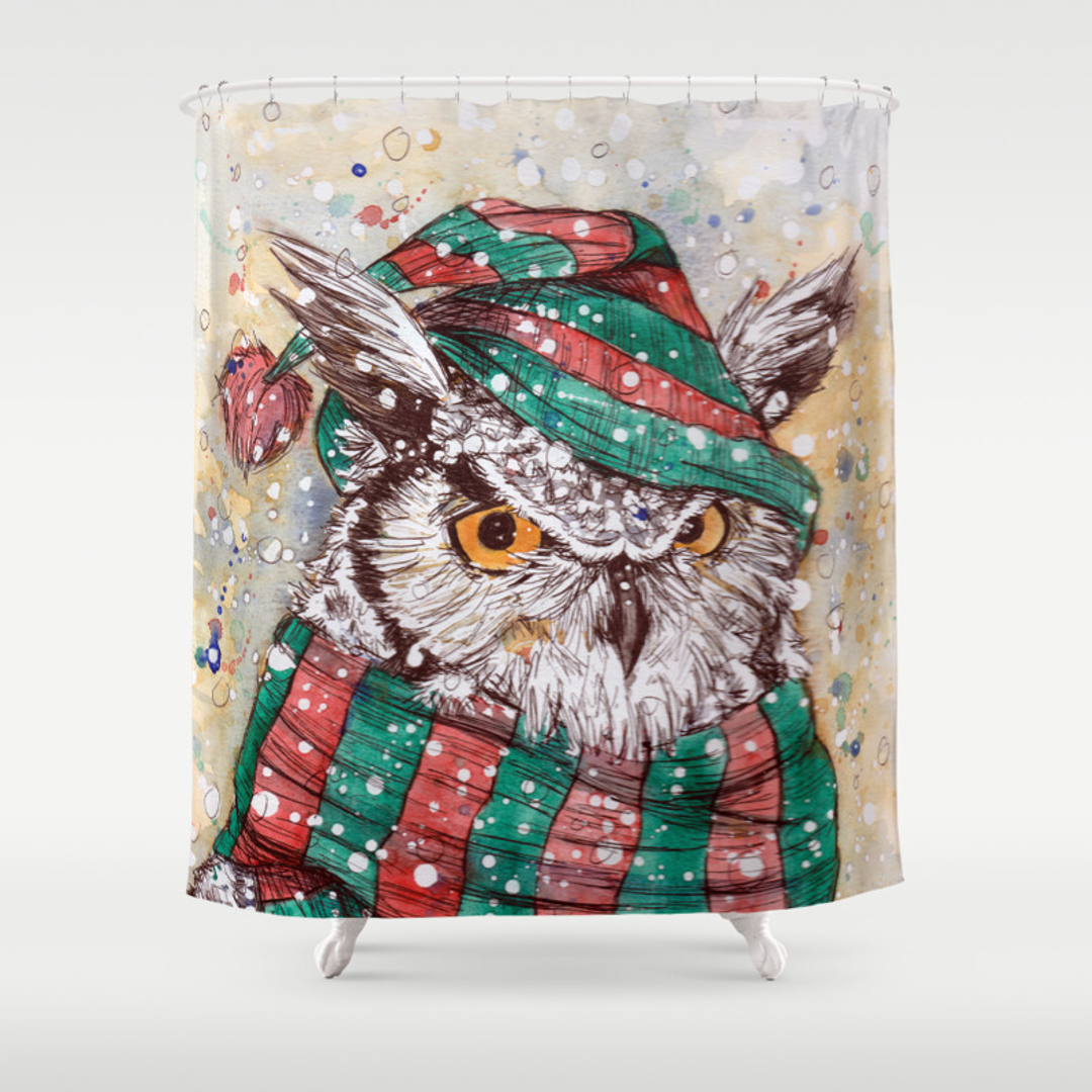 Owl shower curtains - Owl Shower Curtains 25