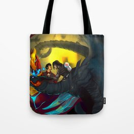 Come Pet My Dragon Tote Bag