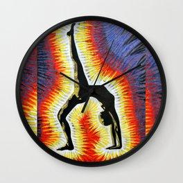 Yoga Backbend Wall Clock