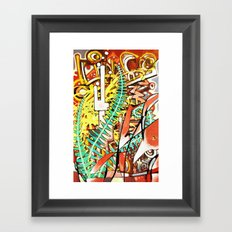 Steel Runners Framed Art Print