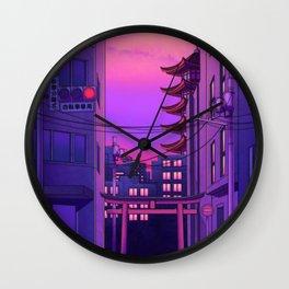 Tokyo Day Wall Clock
