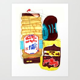 Bread Box Art Print