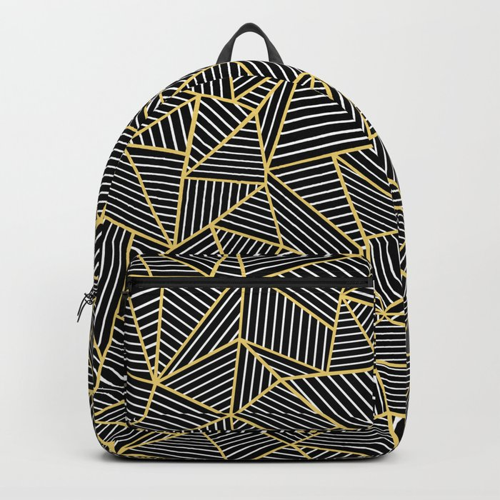 Ab Out Double Repeat Black Backpack