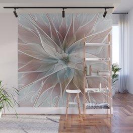 A Floral Friend, Abstract Fractal Art Wall Mural