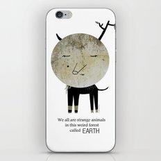 Strange Animal iPhone & iPod Skin