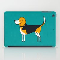 beagle iPad Cases featuring Beagle by MaJoBV
