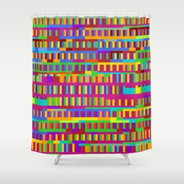 Beethoven Moonlight Sonata (Rainbow Hues) Shower Curtain