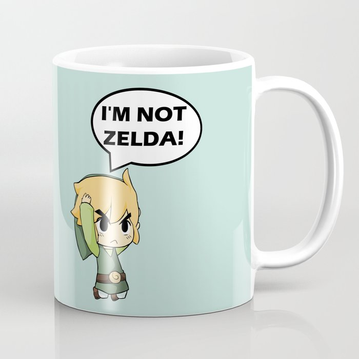 I'm not Zelda! (link from legend of zelda) Coffee Mug