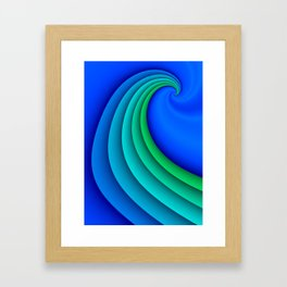fluid -47- Framed Art Print