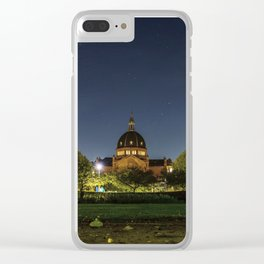 Clear Night Clear iPhone Case