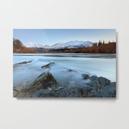 Coronet Peak - Queenstown - New Zealand Metal Print