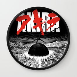 AKIRA - Neo Tokyo Is About To Explode Wall Clock