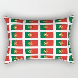flag of portugal 2 -Portuguese,mirandese,Portugués,lisbon,porto. Rectangular Pillow