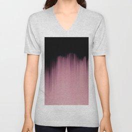 Dramatic Pink Unisex V-Neck