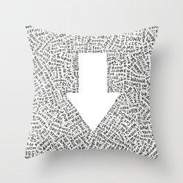 I Wanna Be Down (2018) Throw Pillow