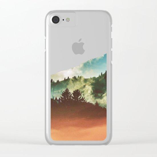 Mighty Mountain #society6 #decor #buyart Clear iPhone Case