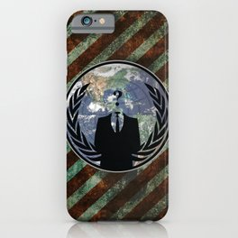 World Wide Anonymous iPhone Case