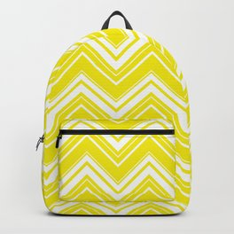 Sunny Yellow Chevron pattern - Mix & Match with Simplicity of Life Backpack