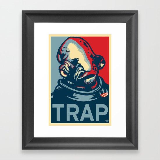 TRAP Framed Art Print