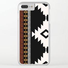 Pueblo in Sienna Clear iPhone Case
