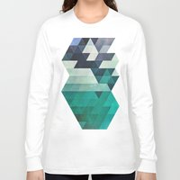 spires Long Sleeve T-shirts featuring aqww hyx by Spires