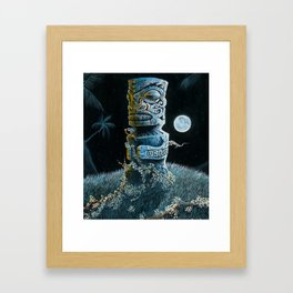 Marquesan Entwined Framed Art Print