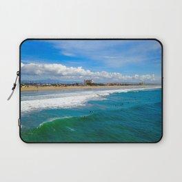 Huntington Beach Surfers Laptop Sleeve