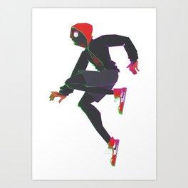 Miles Morales III Art Print