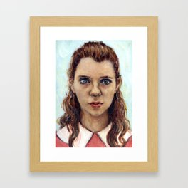 Suzy - Moonrise Kingdom - Kara Hayward Framed Art Print