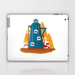 Tea Lighthouse Laptop & iPad Skin
