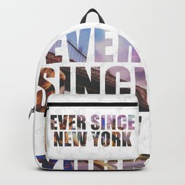 EVER SINCE NEW YORK Backpack