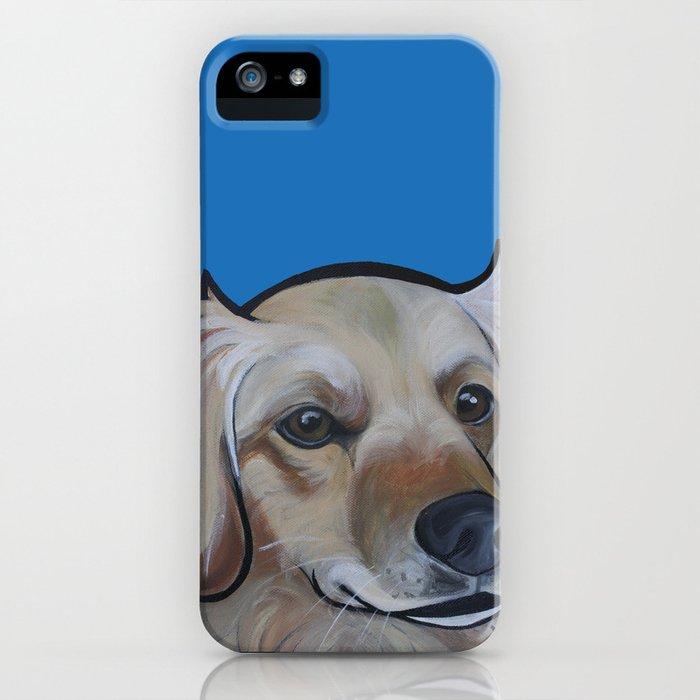 Josie (blue) iPhone Case