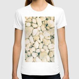 White sea pebble T-shirt